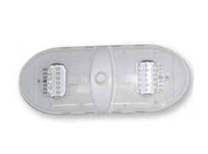 Valterra DG654301VP Slim Line Double Dome LED Light Warm White - 3500K Questions & Answers