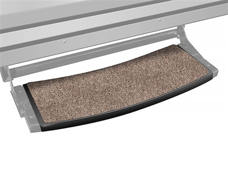 Prest-o-Fit 2-0371 Outrigger Radius 22'' RV Step Cover - Walnut Brown Questions & Answers