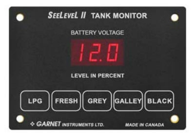 My black tank reads 29% even though it is completely empty, can this Seelevel tank monitor system be reset ?