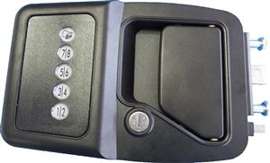 Will this Bauer EM lock fit 2014 cedar creek fifth wheel model 38FL?