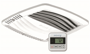 Product question: will Advent Air ACRG15 Flash Freeze Ducted Ceiling Assembly Kit, also control my propane furnace?