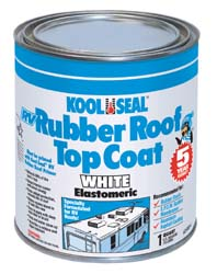 Kool Seal Rv Rubber Roof Topcoat