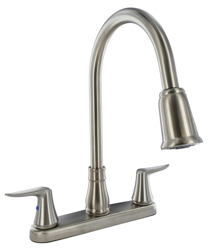 Valterra PF221404 Pull Down Spout Brushed Nickel Kitchen Faucet Questions & Answers