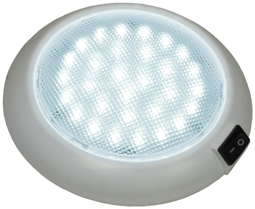 Peterson V379S Great White LED Dome Interior Light With Switch Questions & Answers