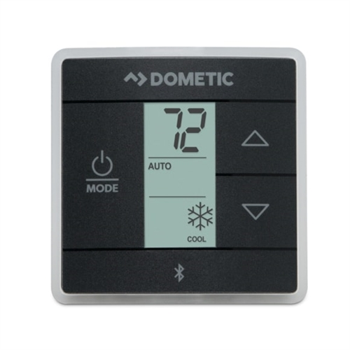 Dometic 3316255.011 Single Zone Heat/Cool Bluetooth Thermostat - Black