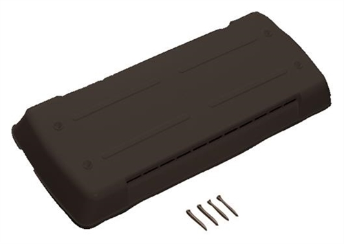 Ventmate 62712 Replacement Vent Cover For Dometic Refrigerators - Black