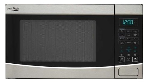 High Pointe EM925AQR Microwave Oven With Turntable