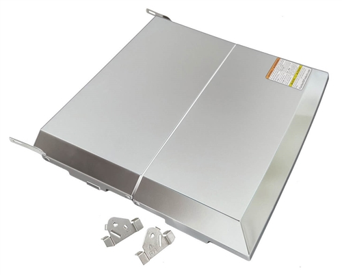Dometic 54102 Bi-Fold Cooktop Cover For RV/RA/CV/CA Series - Stainless Steel
