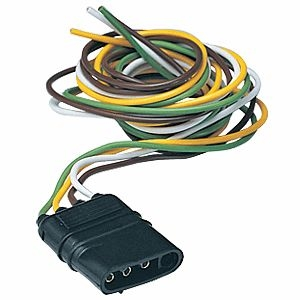Husky Towing 13192 4-Way Flat Trailer Wiring Connector - 12'' Questions & Answers