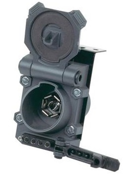 Husky Towing 30498 Multi-Tow 7-Way Blade, 5 And 4-Wire Flat Connector