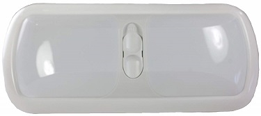 Arcon 20726 LED Double Euro-Style Light With Switch - White Lens - Bright White Questions & Answers