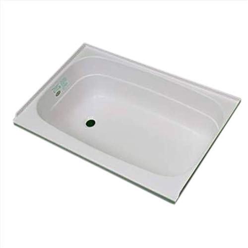 Specialty Recreation BT2432WL White Bathtub - Left Drain - 24'' x 32'' x 11.5'' Questions & Answers