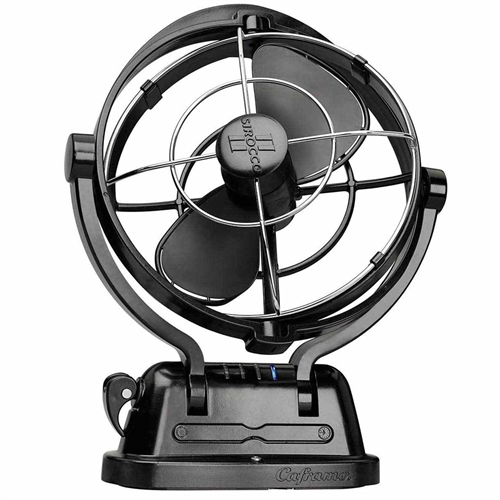 Caframo 7010CABBX Sirocco 7-Inch 3-Speed 360-Degrees Fan - Black Questions & Answers