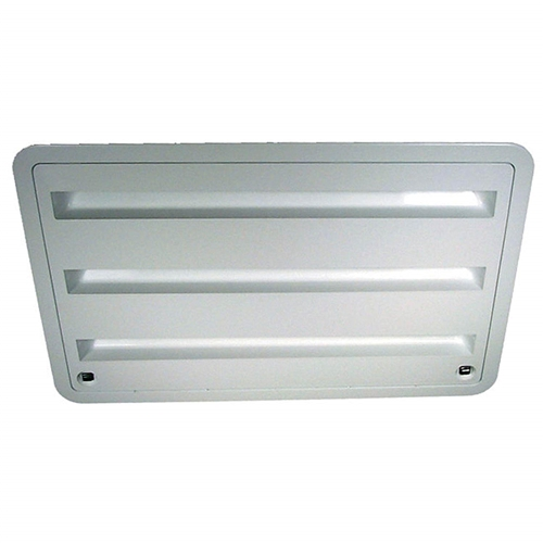 Dometic 3109350.011 Refrigerator Lower/Upper Side Vent - Polar White