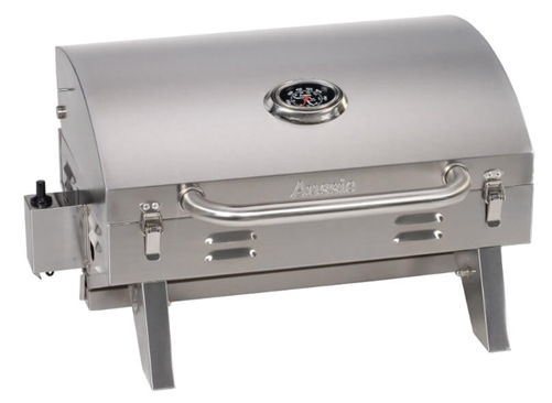 Aussie 6TV1U00SS1 RV Barbeque Grill - Stainless Steel