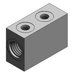 I have two slide outs with two cylinders on each slide which are different sizes, can I use 140558 flow dividers?