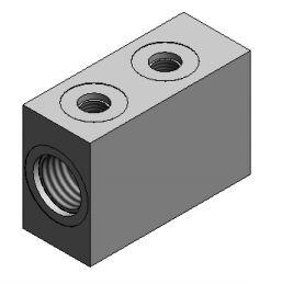 Lippert 140558 Double Flow Divider Block