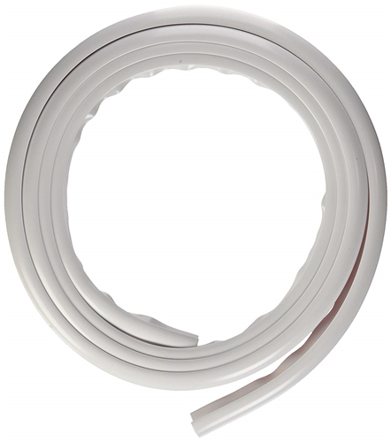 Essential UW01004 Eze RV Gutter Drip Rail - 10 Ft - Polar White