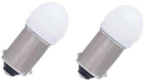 Putco CBA9SW LumaCore Courtesy LED 756 Light Bulb - White - Set of 2