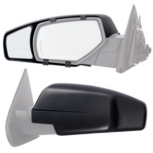 K-Source 80910 Snap & Zap Exterior Towing Mirrors For 2014-19 GMC Sierra/Chevy Silverado Questions & Answers
