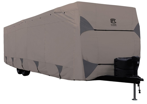 Classic Accessories 80-487-162401-RT Encompass Cover For 22-24' Travel Trailer RVs - Model 3