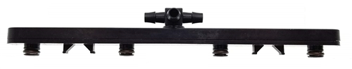 """Flow-Rite BA-120-BLK Pro-Fill Manifold With Swivel For 8V Trojan Battery, 2.3"""" Cell Spacing - Black"""