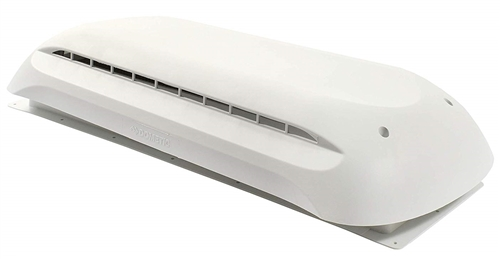 Dometic 3311236.000 Refrigerator Cap And Base Roof Vent - Polar White
