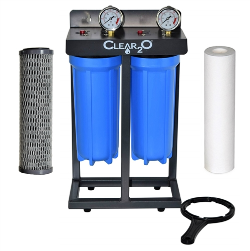 Clear2O CDC200 Dual Canister Water Filtration System