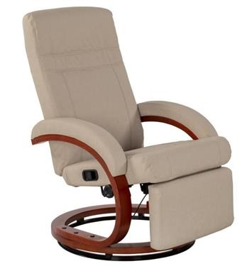 Thomas Payne 643643 Euro Recliner Chair With Footrest - Oxford Tan