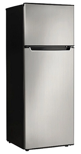 General Electric ATFR0730SE Ascoli 7.3 Cubic Ft Top Mount Refrigerator/Freezer - Stainless Steel