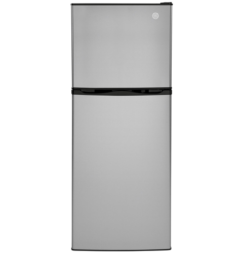 General Electric GPV10FSNSB 9.8 Cubic Ft Top-Freezer Refrigerator - 12 Volt DC - Stainless Steel