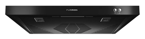 Furrion FHO23SACRV-BL Ductless Range Hood With Charcoal Filter And LED Light - Black