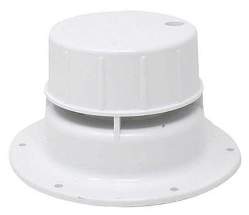 LaSalle Bristol 74558 RV Roof Vent Cap With Snap-On Cap - 5-1/2'' Diameter