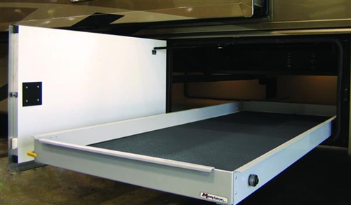 MORryde CTG60-2660W Sliding Cargo Tray - 26'' x 60'' Questions & Answers