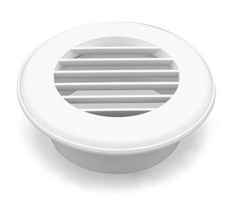 """How do you remove the louvered piece on a 4"""" Thetford AC ceiling vent"""