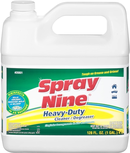 Permatex 26801 Spray Nine Heavy-Duty Cleaner/Degreaser - 1 Gallon