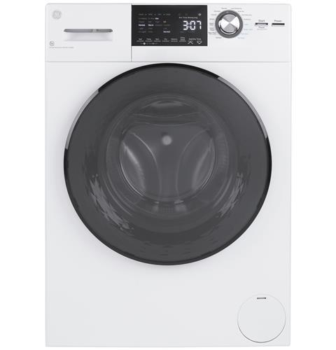 """General Electric GFQ14ESSNWW Front Load Washer/Condenser Dryer Combo - 24"""" - 2.4 Cubic Ft"""