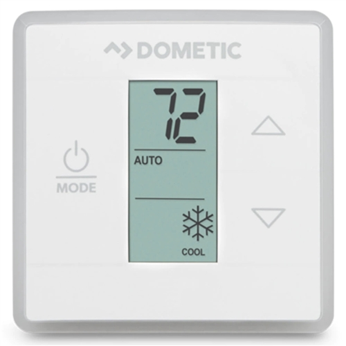 Dometic 3316250.700 Single Zone CT Cool/Furnace Thermostat - White