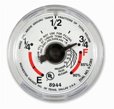 Manchester Tank G12653 Snap-On Propane Tank Dial Gauge Questions & Answers