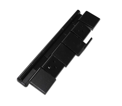 Lippert 204758 RV 6 Leaf Entry Door Hinge Assembly - Black