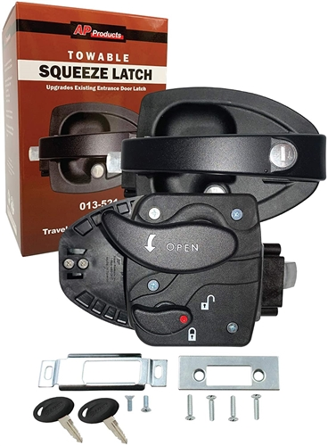 Bauer 013-521 Squeeze Latch Entry Door Lock Questions & Answers