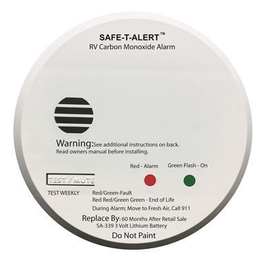 MTI Industries SA-339 Safe-T-Alert Sealed Battery Carbon Monoxide Detector