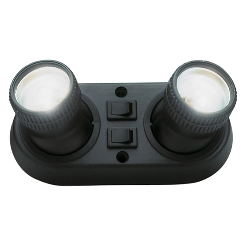 AP Products 005-06001037 Europa Double RV Reading Light Questions & Answers