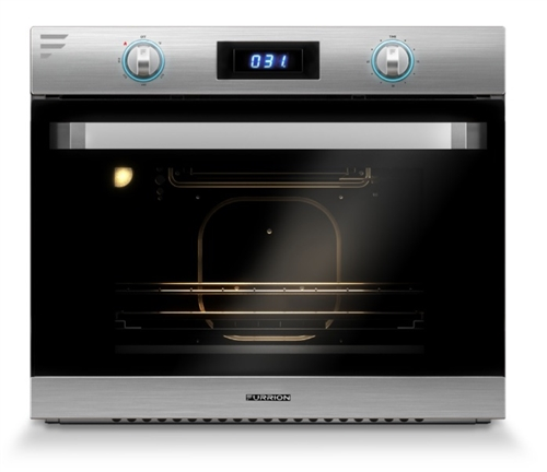 Is this model supposed to show me the temp of the oven.