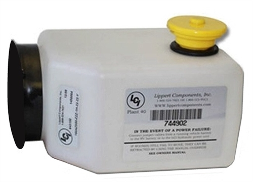 Lippert 177420-CO 2-Quart Hydraulic Tank - Container Only