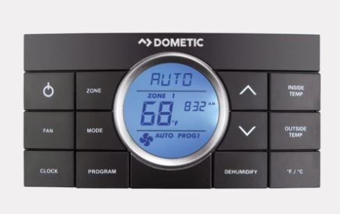 Dometic 3314082.000 Comfort Control Center II Multi-Zone Thermostat - Black