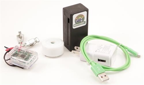 RV Whisper RVM2-2S Monitor Station With 1 Temperature Sensor & 1 Battery Voltage Sensor
