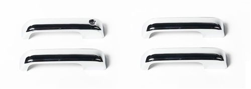 Putco 401062 ABS Chrome Door Handle Cover For 2015-2020 Ford F-Series - 4 Pack