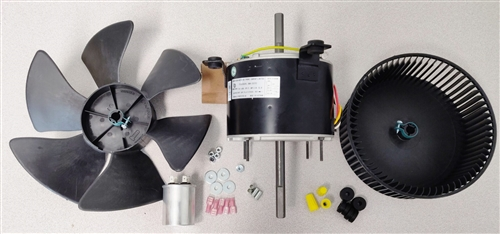 I have a Duro Therm MODEL 630516.321 Prod. No. 991760370 heat pump on my 2004 motor home.  Will this fan kit work?