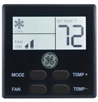 General Electric RARWT2B Single Zone RV Air Conditioner Wall Thermostat - Black Questions & Answers